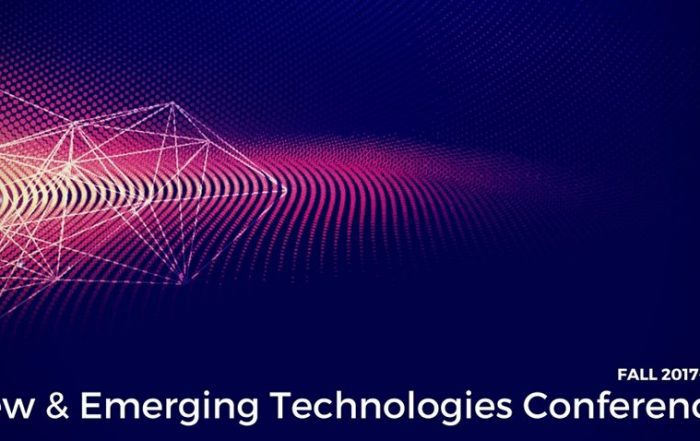 New & Emerging Technologies Conferences - Fall 2017-2018