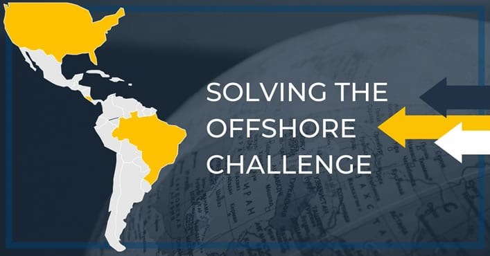 Solving offshore challenge