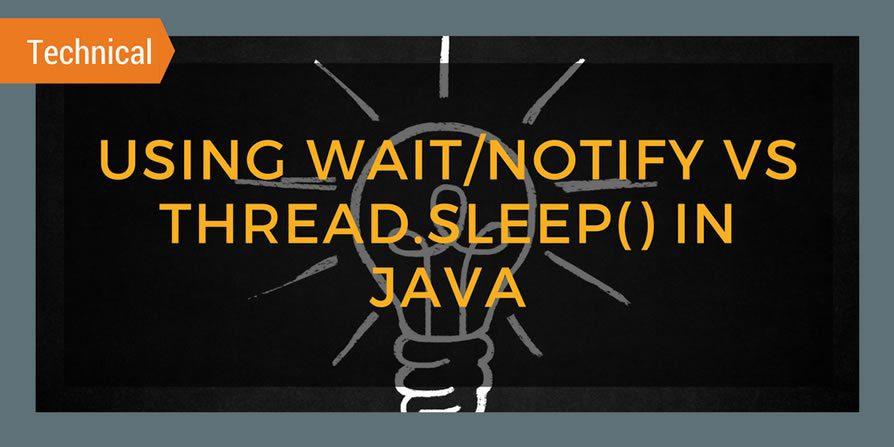 Using wait/notify in Java
