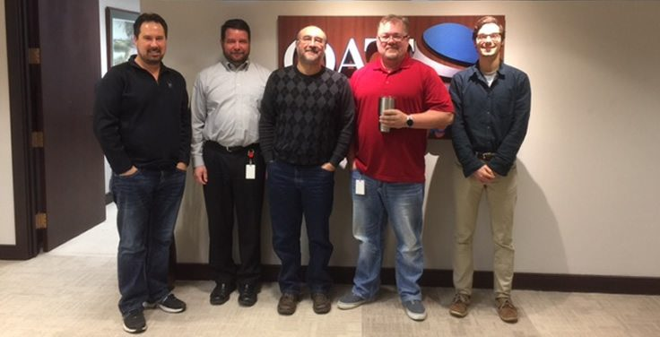 QAT Global's No Shave November Team