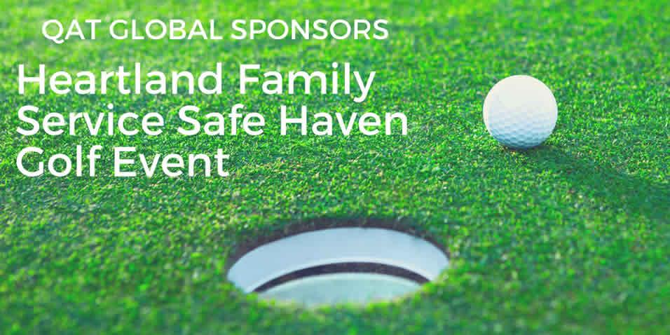 QAT Global Sponsors Heartland Family Service Safe Haven Golf Event