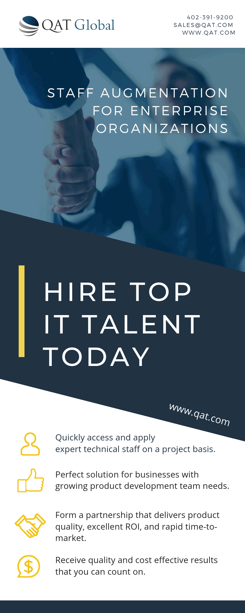 Hire top IT talent